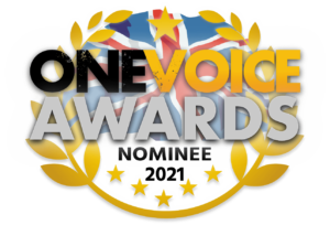 One Voice Awards 2021 nominee